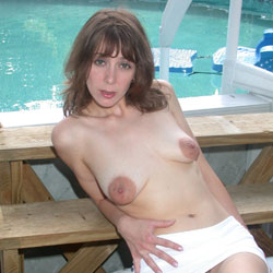 Puffy Nippled Photo Shoot - Brunette Hair, Hairy Bush, Nude Outdoors, Naked Girl, Wife/wives, Amateur , Russian, Wife, Nude, Naked, Big Tits, Trimmed Pussy, Outside, Big Areolas