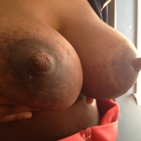 Extremely large tits of my wife - Bella