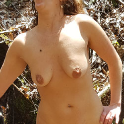 Marie Climbing Waterfall Naked - Nude Wives, Big Tits, Outdoors, Shaved, Nature