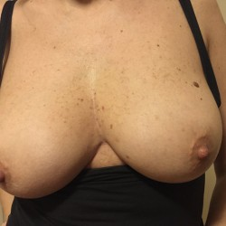 Large tits of my wife - Fede