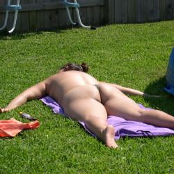 A neighbor's ass - Neighbors Wife
