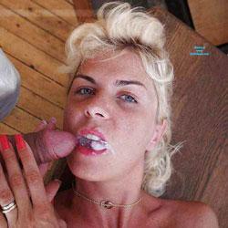 Facial And Cumshots For Coco The Slut - Cumshot, Facials, Blonde