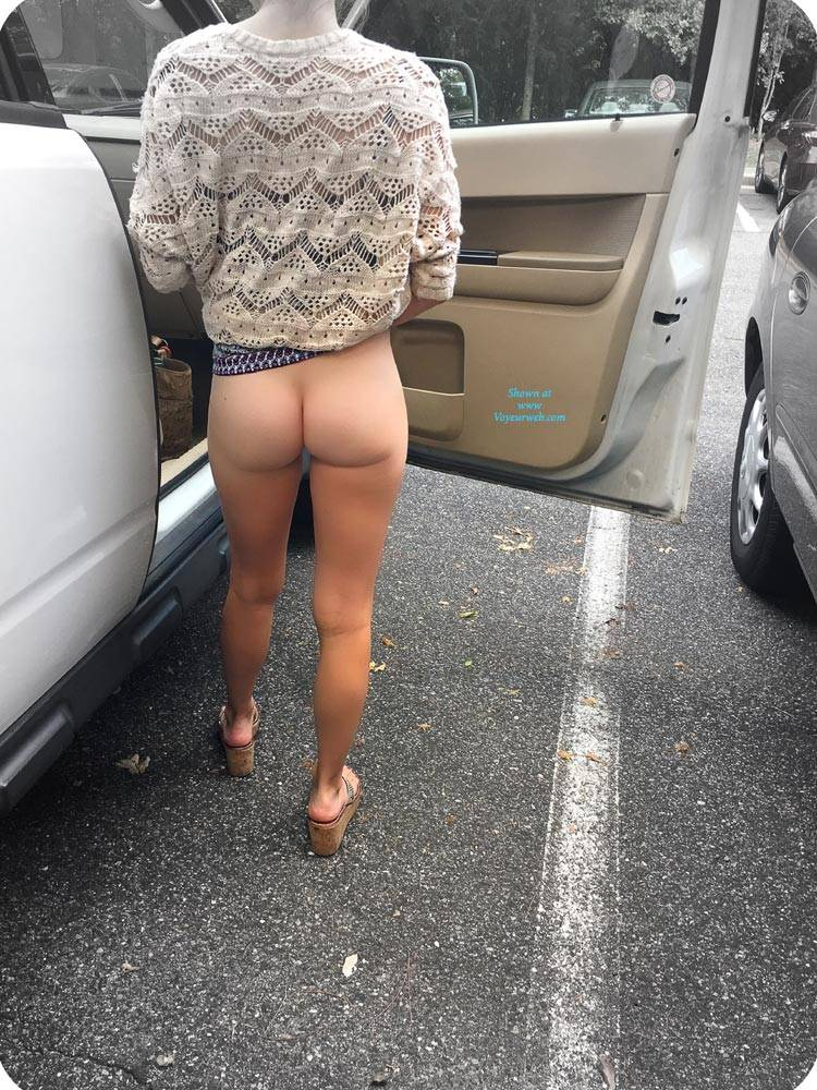 Pic #1Road Trip - Public Exhibitionist, Flashing, Outdoors, Public Place, Shaved, Firm Ass