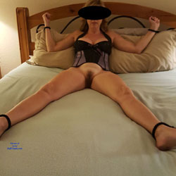 Wife Tied And Blindfolded
