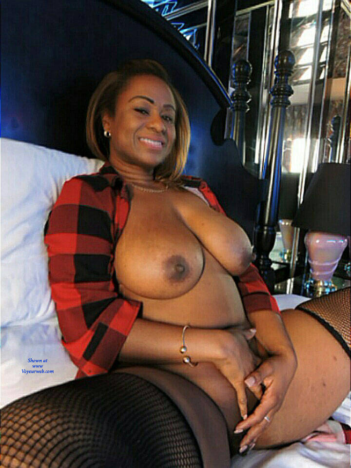 Pic #1 So Sweet And Sexy - Big Tits, Ebony, Lingerie, Amateur