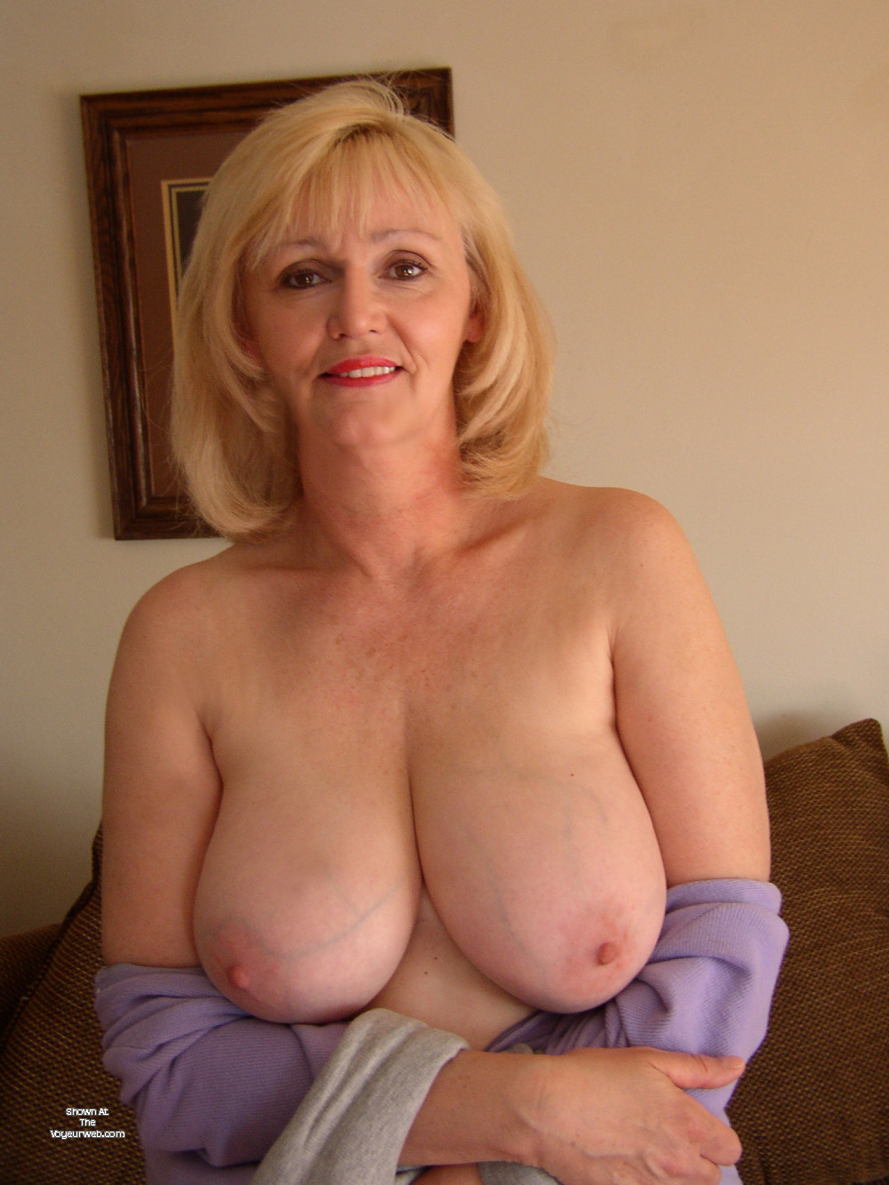 Very Large Tits Of My Wife - Sandy - July, 2017 - Voyeur Web-5680