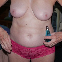 Getting Ready To Go Out - Big Tits, Lingerie, Amateur