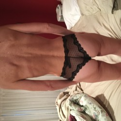 My wife's ass - Wife in panties