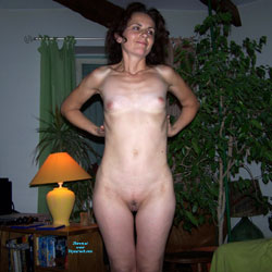 First Time - Nude Girls, Brunette, Small Tits, Shaved, Amateur