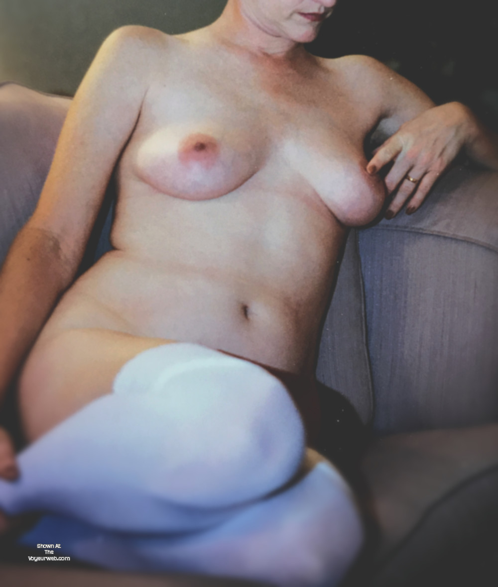 Pic #1 Large tits of my wife - Peaches