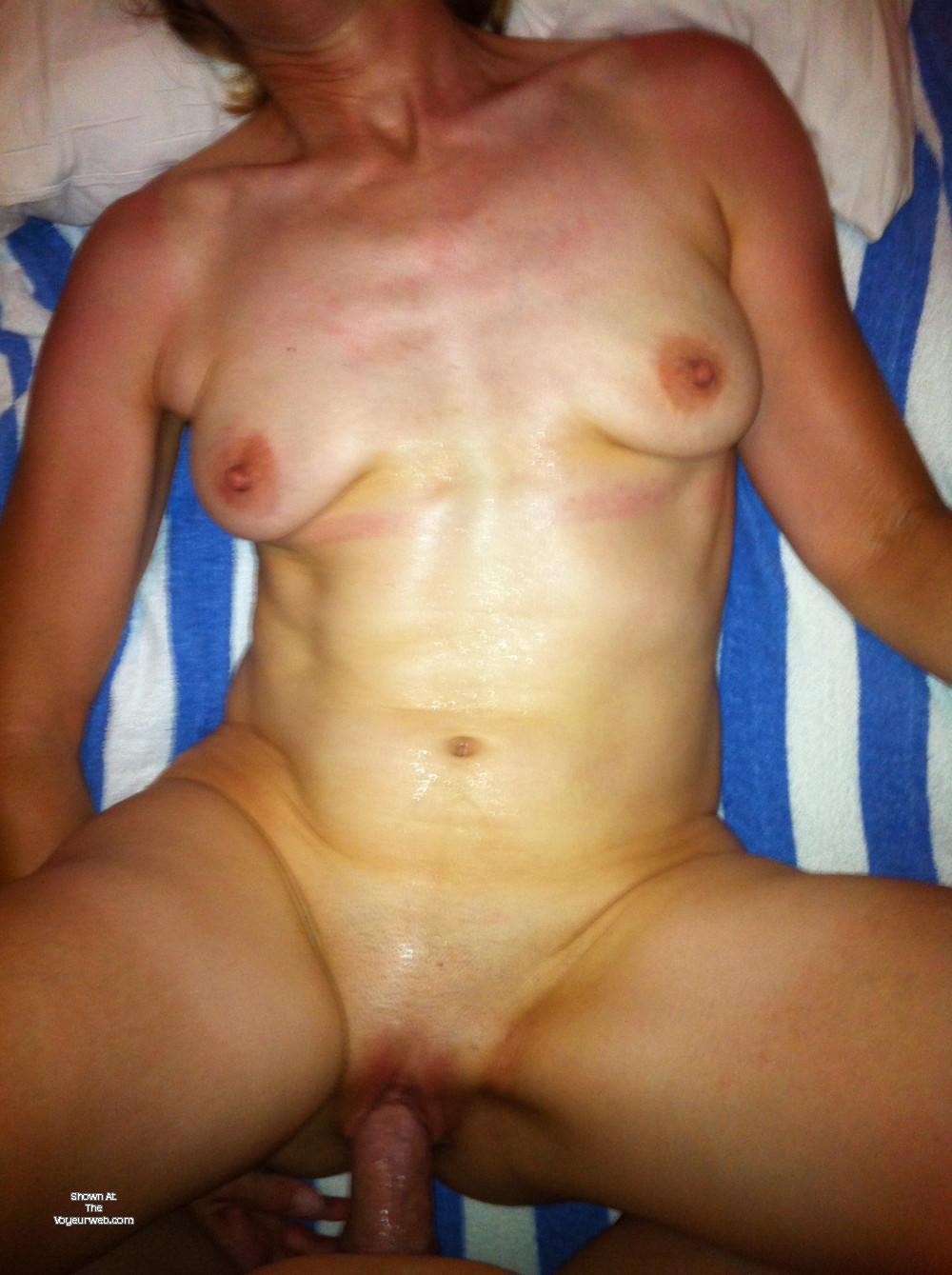 Pic #1 Medium tits of my wife - Mrs. Naughtydx