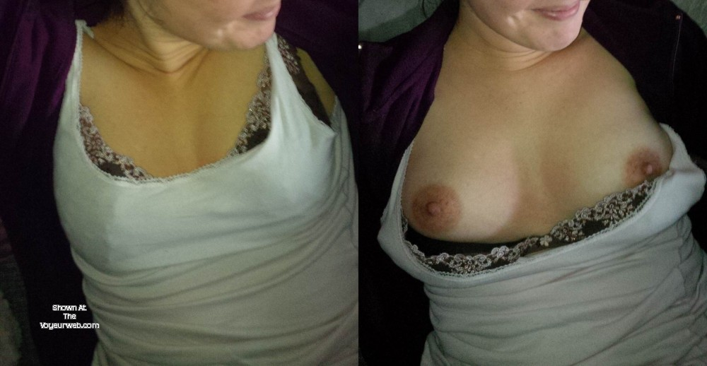 Pic #1Small tits of a co-worker - Pixie