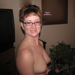 Medium tits of my wife - Redhot