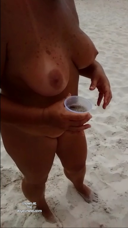 Pic #1 Large tits of my wife - Leka 40