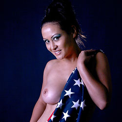 Big Tits Behind The Flag - Big Tits, Brunette Hair, Erect Nipples, Flashing Tits, Flashing, Nipples, Perfect Tits, Showing Tits, Hot Girl, Naked Girl, Sexy Body, Sexy Boobs, Sexy Face, Sexy Woman , Nude, Naked, Big Tits, Flashing, Flag