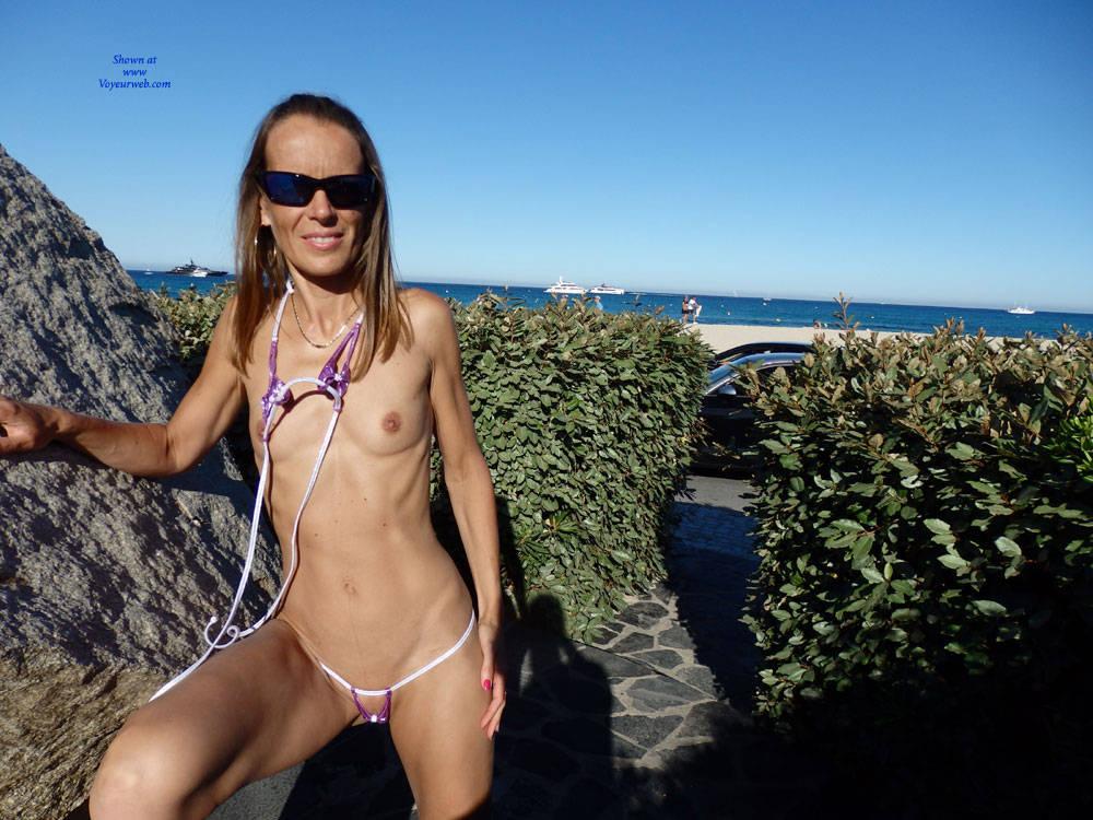 Pic #1Pampelonne Beach - Beach, Brunette, Outdoors, Amateur