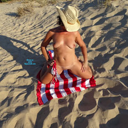 Naked On Flag And Sand - Big Tits, Brunette Hair, Exposed In Public, Firm Tits, Full Nude, Nude Beach, Nude In Public, Nude Outdoors, Perfect Tits, Shaved Pussy, Showing Tits, Beach Pussy, Beach Tits, Beach Voyeur, Hot Girl, Naked Girl, Sexy Body, Sexy Boobs, Sexy Face, Sexy Figure, Sexy Girl, Sexy Legs, Sexy Woman , Brunette, Beach, Naked, Hat, Flag, Sand, Legs, Big Tits, Shaved Pussy