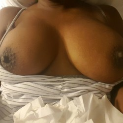 Medium tits of my girlfriend - CeCee