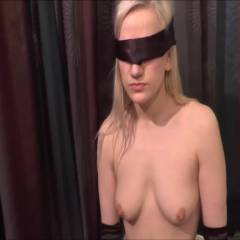 Molly Blindfolded And Sucking