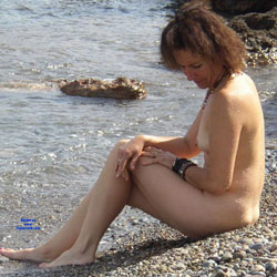 Castaway - Nude Girls, Beach, Brunette, Outdoors, Amateur, Mature