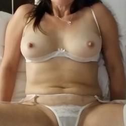 Medium tits of my wife - Always Hard