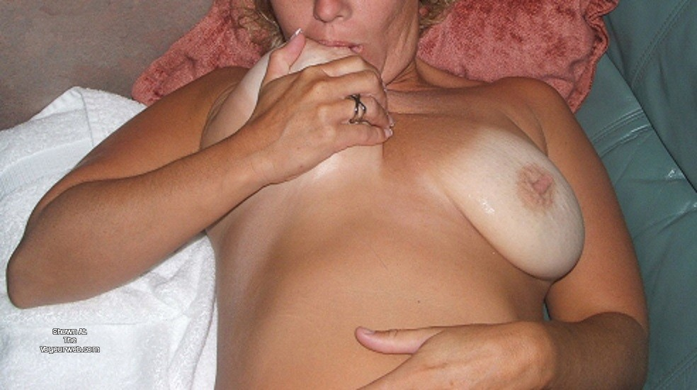 My Medium Tits - Milf Nipple Suck Tit Flash - August, 2017 -7728