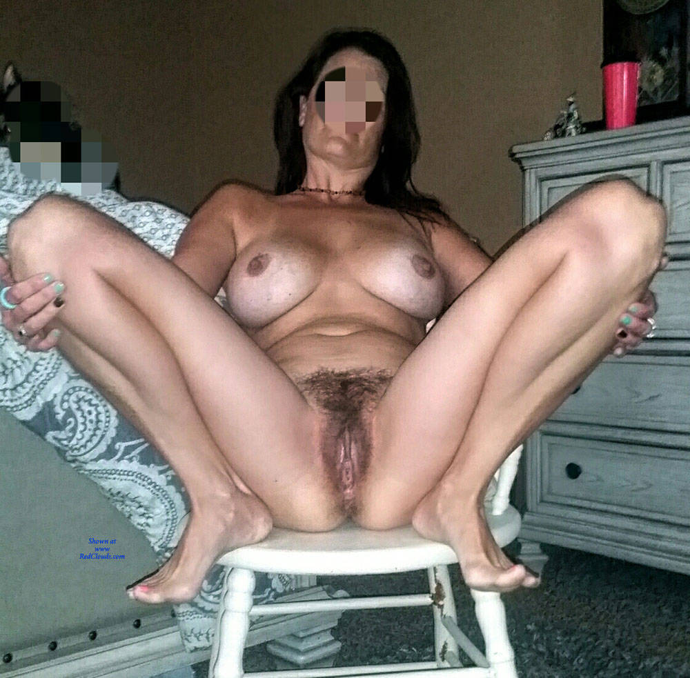 Not Wife big tits hairy bush