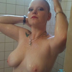 Cooling Shower - Nude Amateurs, Big Tits, Wife/wives