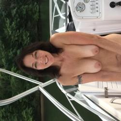 Medium tits of a co-worker - Ginagirl