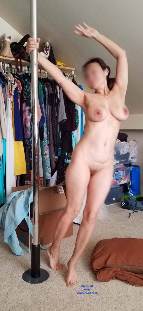 Authoritative Wife pole dancing naked opinion