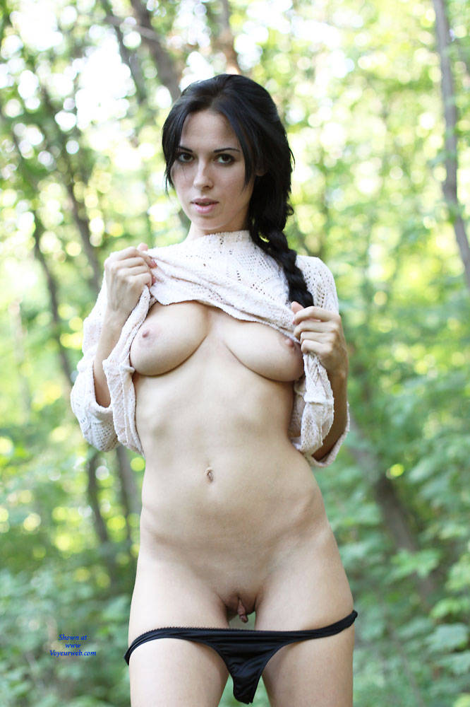 Pic #1Alexa With Love - Nude Girls, Big Tits, Brunette, Outdoors, Shaved