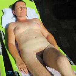 Sun - Nude Amateurs, Brunette, Outdoors, Bush Or Hairy
