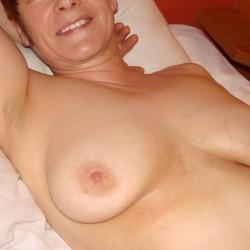 Medium tits of my wife - Thora