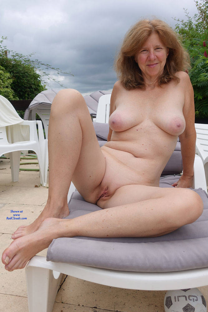 Milf with big round firm tits