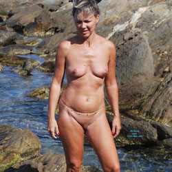 A Day On The Beach - Nude Amateurs, Beach, Outdoors, Shaved