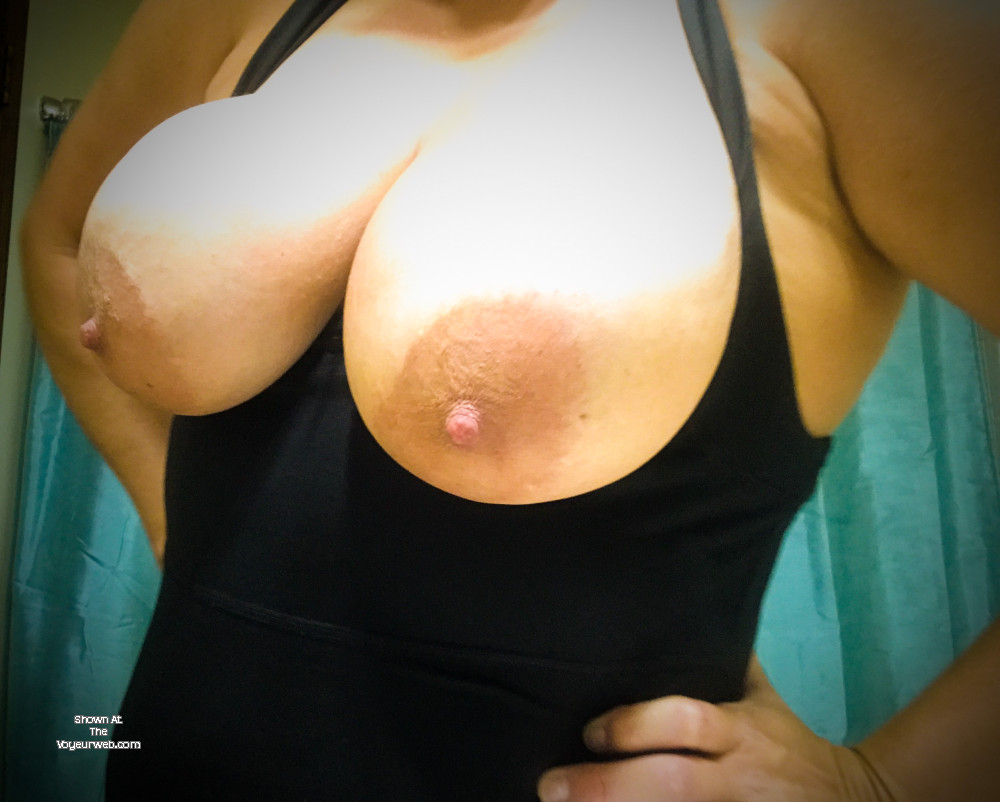 Pic #1 My very large tits - Beach Babe