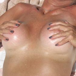 Large tits of my girlfriend - Angela