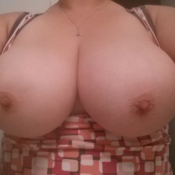 Large tits of my wife - AverageGirl