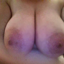 Large tits of my wife - Diane