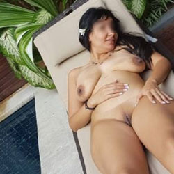 Public naked wife hotel pool think, you
