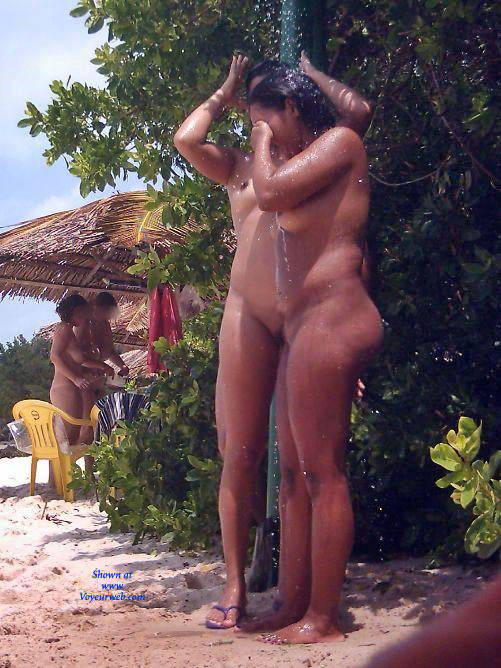 Pic #1Two Friends In Tambaba Beach, Brazil - Nude Girls, Outdoors, Beach Voyeur