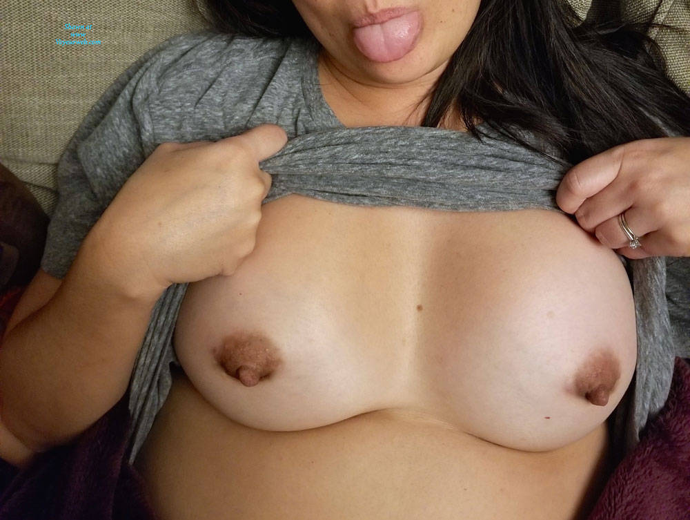 Shy milfs with big natural tits