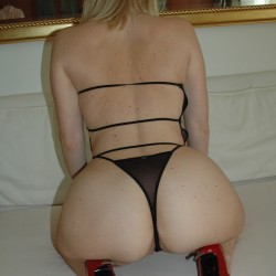 My wife's ass - bigblondebuttwife