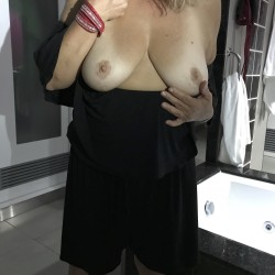 Large tits of my wife - Naughty Girl