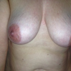 Medium tits of my wife - Halina