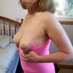 Medium tits of my wife - Sexy Red
