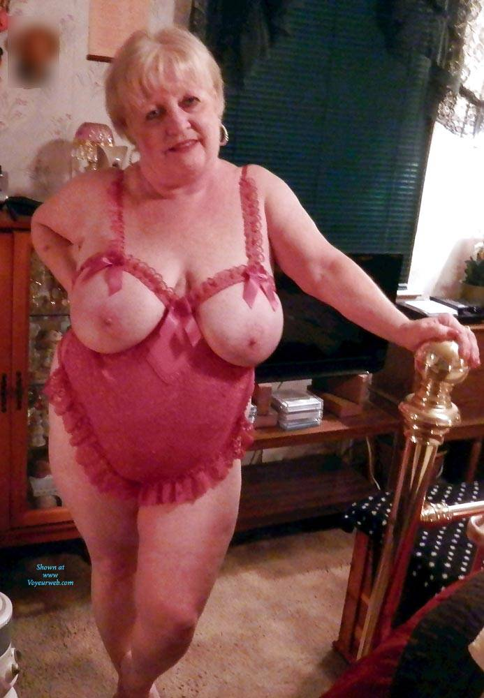Pic #1 Just Trying To Be Seductive In My Golden Years - Big Tits, Lingerie, Mature, Granny