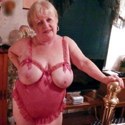 Just Trying To Be Seductive In My Golden Years - Big Tits, Lingerie, Mature, Granny