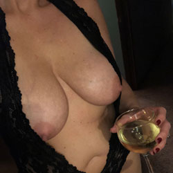 Wine Night  - Wives In Lingerie, Big Tits, Amateur