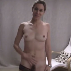 Wife With Massive Bush Does A Striptease